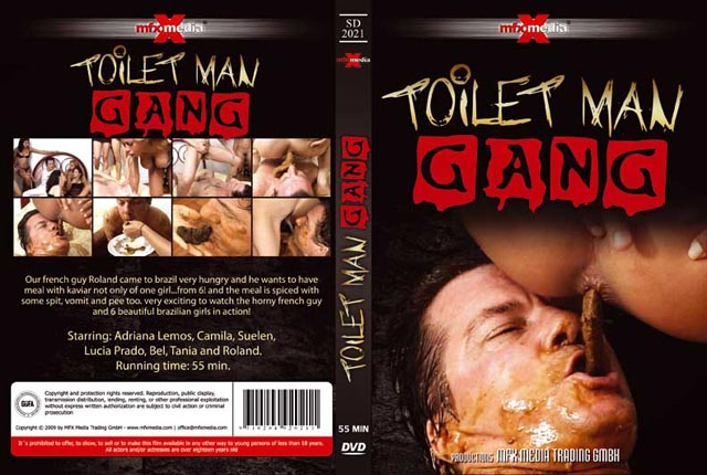 Adriana, Camila, Suelen, Lucia, Bel, Tania and Roland - [SD-2021] - Toilet Man Gang [SD/578 MB]- MFX Media