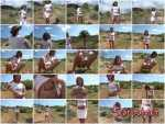 Piss In White T-Shirt And White Skirt (Brittany Stone) Scat / Solo [SD] Scat