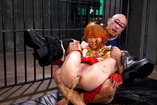 Aoki Rin - [OPUD-239] Cosplay Aoki Rin in captivitys scatology rape , Part 2 (Shitting Girls, Domination) - Japan Scat [DVDRip]