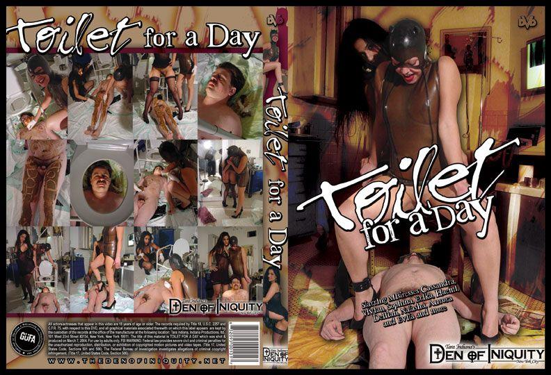 ScatGirls - Toilet For A Day (Domination Scat, Scat Porn) Femdom Scat [DVDRip]