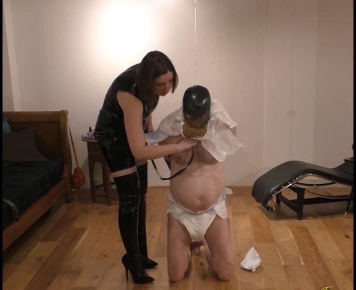 Hair porno diaper femdom slave
