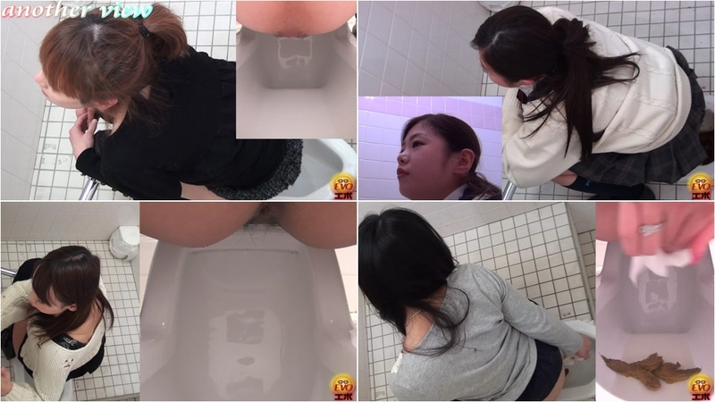 TinaAmazon - SHITTING A BIG TURD SPYCAM TOILET JAPAN POOPING - FullHD 1080p