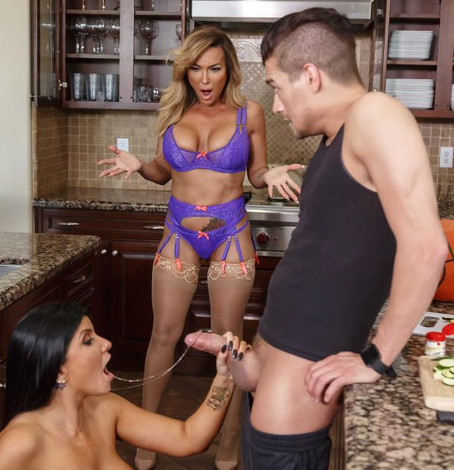 Aubrey Black, Romi Rain - Trading Sides: Part 1 (Lesbians) - Brazzers/HotAndMean [HD 720p]