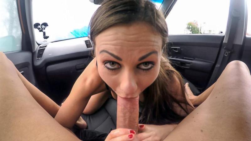Tina Kay - Backseat blowjobs and deep creampie (FakeDrivingSchool.com) SD 2017