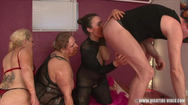 Gina, Francesca, Nadia, 1 Male - More Little Pigs (Enema, BBW Scat) Hightide-Video [HD 720p]