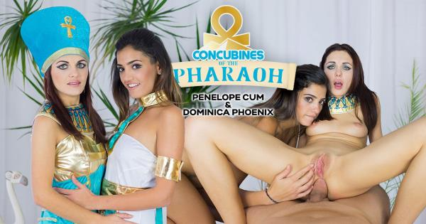 3D VR - Dominica Phoenix & Penelope Cum - Czech VR 169 - Concubines of the Pharaoh [CzechVR.com] [2K UHD] [9.86 GB]
