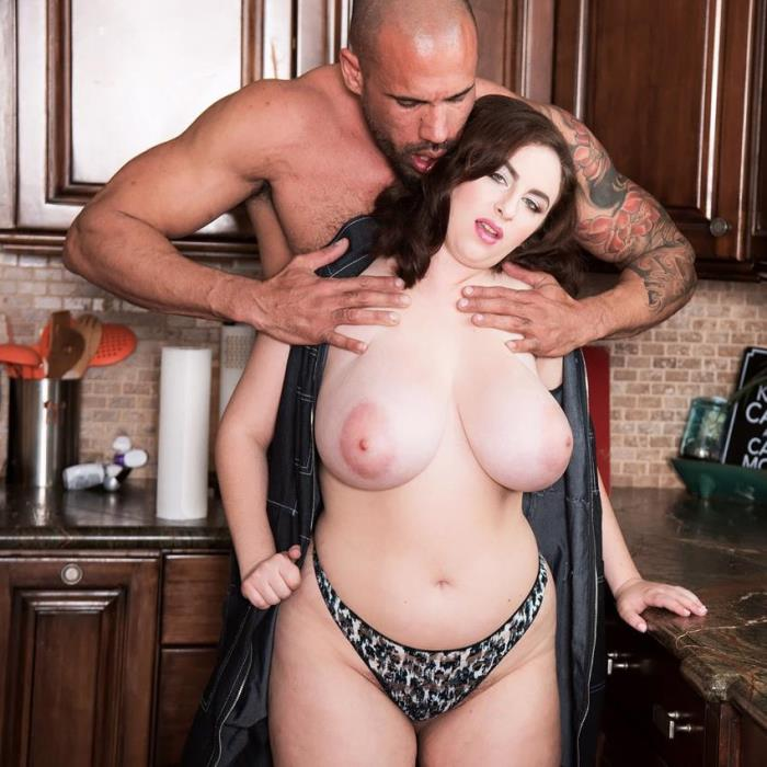 Scoreland/PornMegaLoad: Milly Marks - Big-boobed Milly Marks Heats Up The Kitchen [HD 720p]