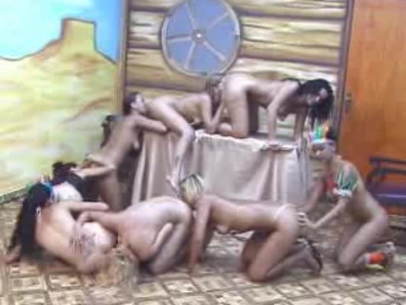 Kunis - 032 Cowgirls Scat 3 (Scat / Vomit) Scat Domination [DVDRip]