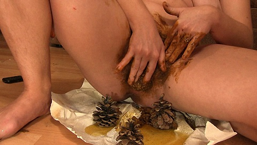 Dirty Barbara - Unusual Toy In Pussy Dirty Barbara (Toilet Slavery, Domination, Scat)  [FullHD 1080p]
