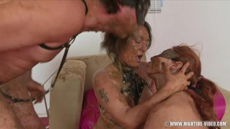 Regina Bella, Gina, 1 Male - SCAT SUBMISSION 2 (Scat, Lesbians, Group) Hightide-Video [HD 720p]
