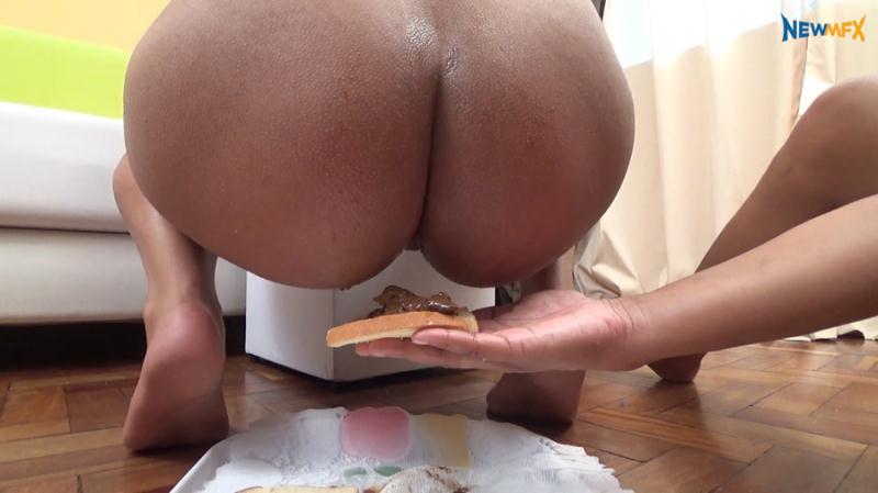 Paloma, Lisa Black - Amateur Scat Lunch (Scat / Femdom / Lesbian) NewScatInBrazil [FullHD 1080p]