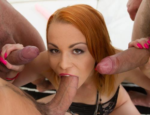 Rebecca Sharon - Double anal 0 % pussy fucking SZ1469 (SD)
