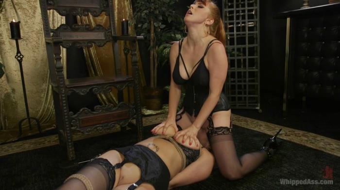 Penny Pax & Carissa Montgomery - Lesbian Femdom Role Switch Leaves Both Women (WhippedAss, Kink) HD 720p