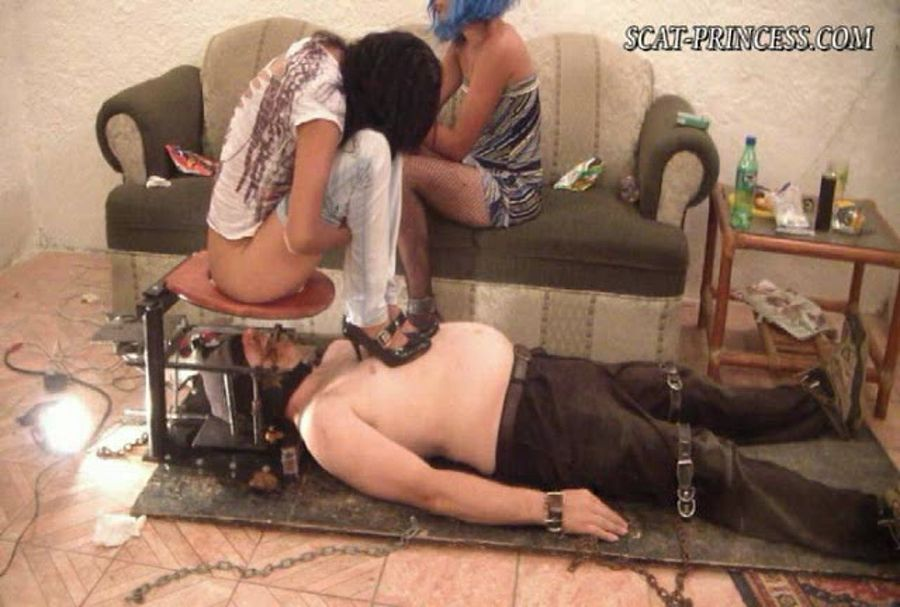 Scatprincess.de - ShitGirls - Using toiletslave is good, forced consumtion is better resound (Austria, Femdom Scat) [SD / 238 MB]