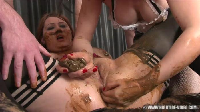 Regina Bella and Louise Hunter - Born toilet - (2011 / X-Static Media) [HD 720p / 937 MB]