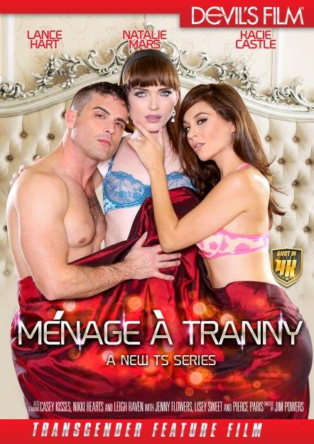 DevilsFilm - Kacie Castle, Lance Hart, Natalie Mars - Menage A Tranny [HD 720p]