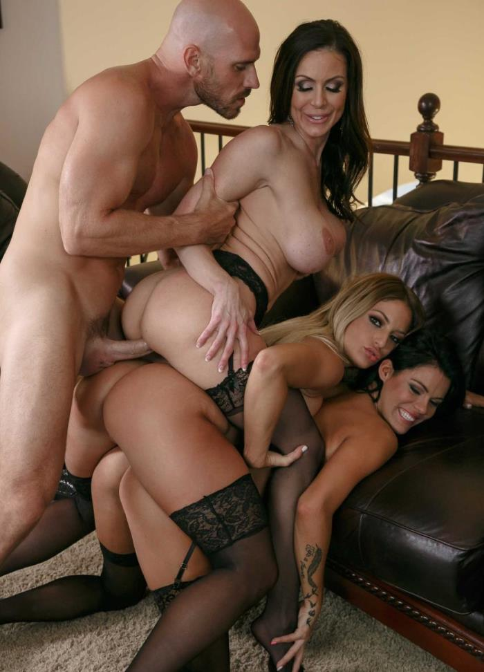 RealWifeStories / Brazzers - Kendra Lust, Kissa Sins, Peta Jensen - My Three Wives [SD 480p]