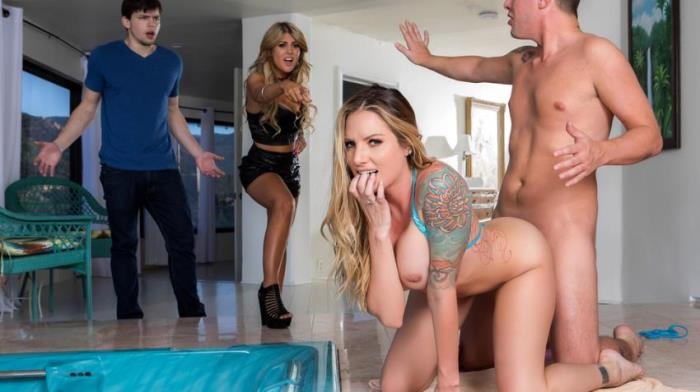 RealWifeStories / Brazzers: Teagan Presley - Sister Swap: Part 2 / 19.11.2017  [SD 480p] (433.82 Mb)