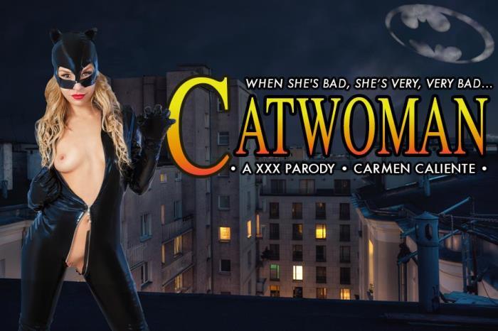 vrcosplayx.com - Carmen Caliente - CATWOMAN XXX [3D, VR, 2K UHD, 1440p]