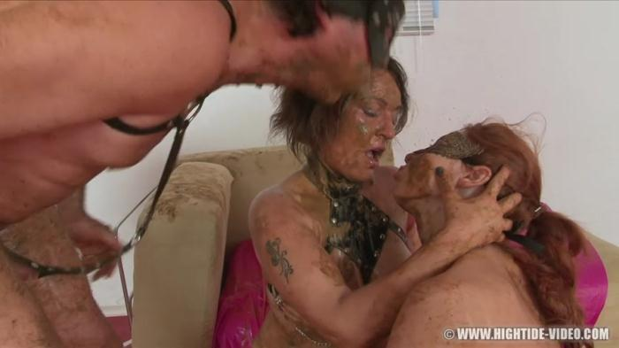 Regina Bella, Gina, 1 Male - SCAT SUBMISSION 2 - (2017 / Hightide-Video) [HD 720p / 1.03 GB]