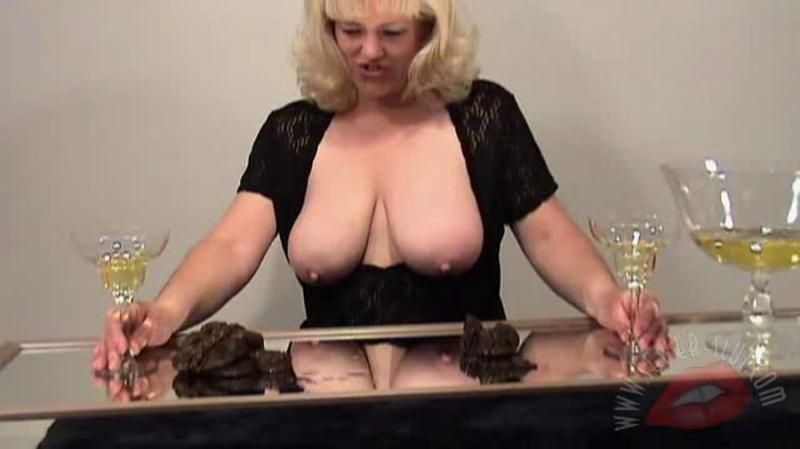 Carol - Taste Test (MILF, Booba Scat) Sewer-Slut [SD]