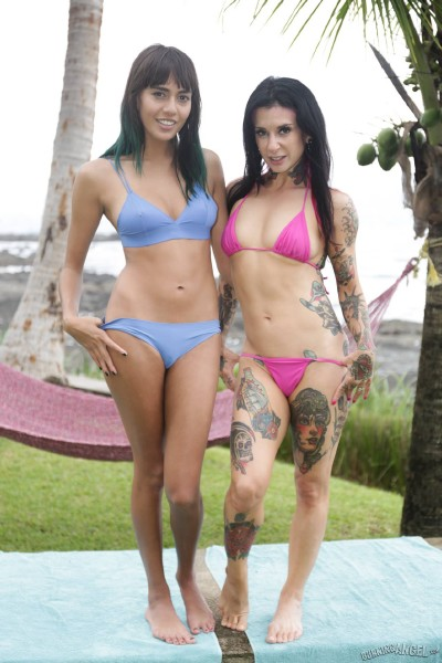 Joanna Angel, Janice Griffith - Fucking Young Whores On Vacation [FullHD 1080p]