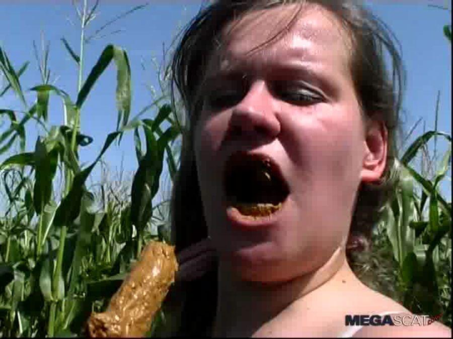 ShitLoving-Anastasia - Anastasia - Sausage And Scat Eating [SD]