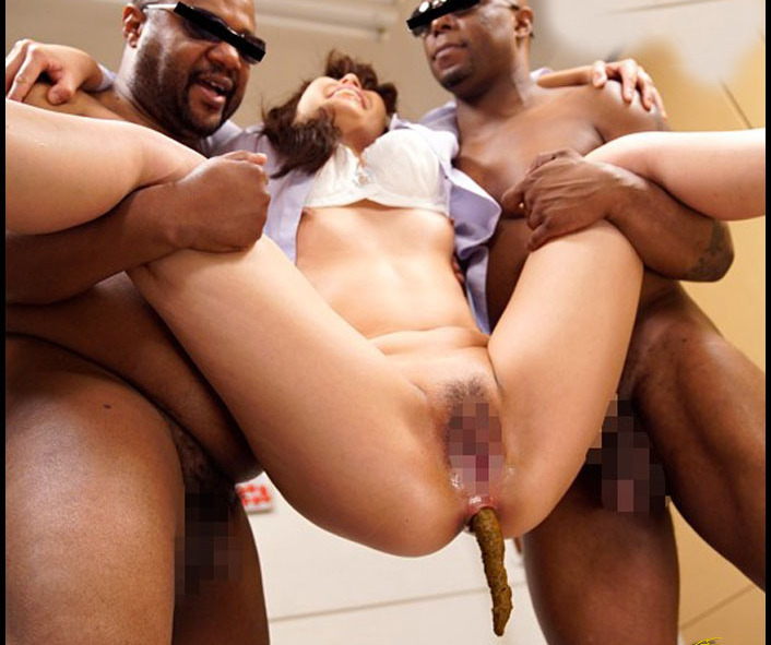 Tima - Elite Female President Lifted Black People! Feces Anal Destruction Aoi Hirano (Big Pile, Dirty, Scat)  [HD 720p]