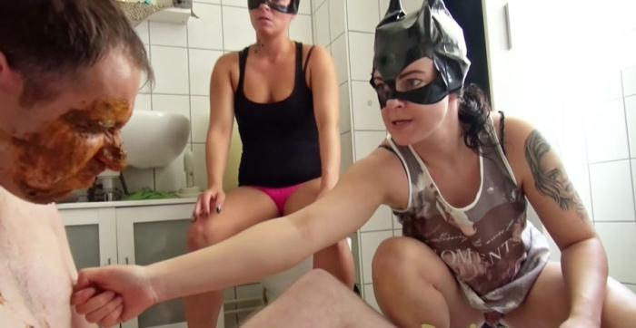 Scatqueens-Berlin - Scat Cats, Domi, Kimi, Lucy, Hanna - The Shit Mask P3 [FullHD 1080p]