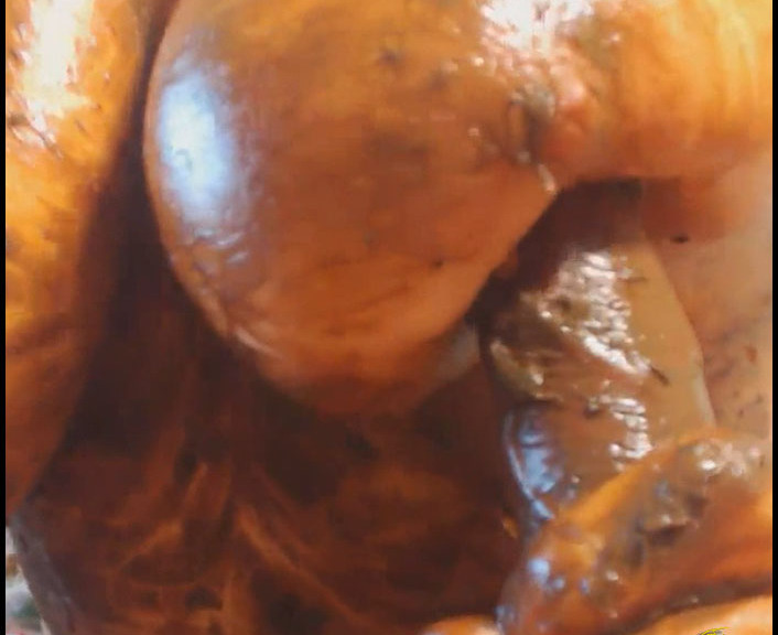 TattyDirtyPoo - Dirty tits (Scatting Domination, Big pile, New scat)  [FullHD 1080p]