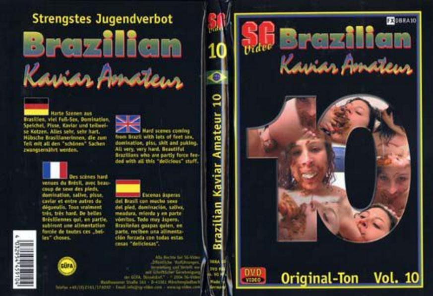 SG-Video: Scat Girls - Brazilian Kaviar Amateur 10 [DVDRip] Domination, Scat Lesbian