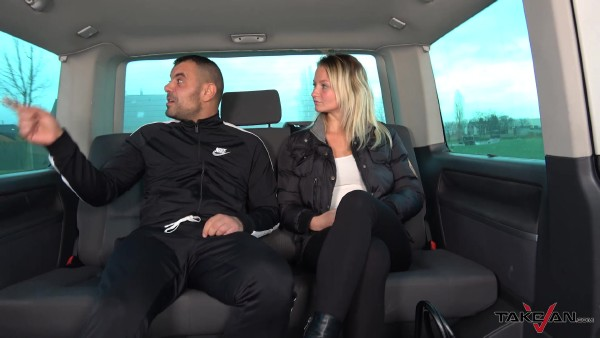 TakeVan - Lora - Surprise ride for a fucktory girl  [FullHD 1080p]