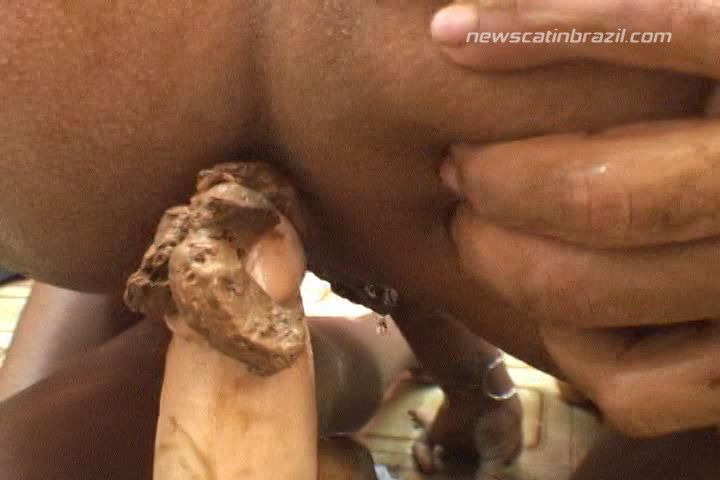 TattyDirtyPoo - Nasty Game THE FIRST TIME OF ANDRESSA (Poopping, Shitting, Big pile, Scat)  [SD]