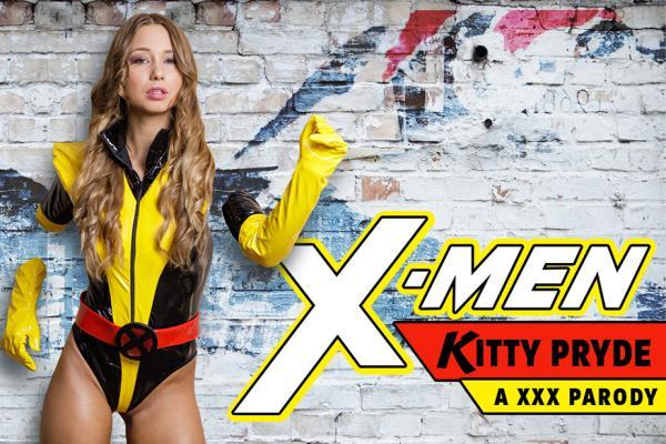 Taylor Sands - Kitty Pryde A XXX Parody - vrcosplayx.com (2K UHD, 1440p) [3D VR]