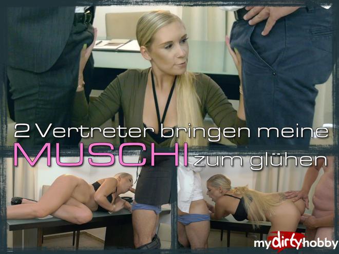 MyDirtyHobby/MDH: LenaNitro - 2 Vertreter bringen meine MUSCHI zum gluhen [FullHD 1080p] (German)