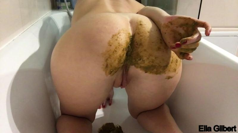 EllaGilbert - Lick my Asshole for Breakfast (Poop Videos / Dirty Anal) Extreme Defecation [HD 720p]