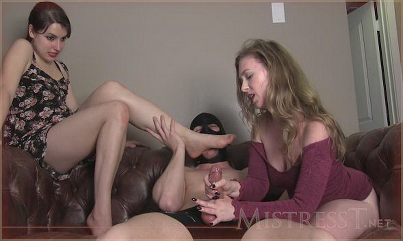 Mistress T and Sasha Mizaree - Ballbust fuck and ruined orgasm [HD] - Clips4Sale.com