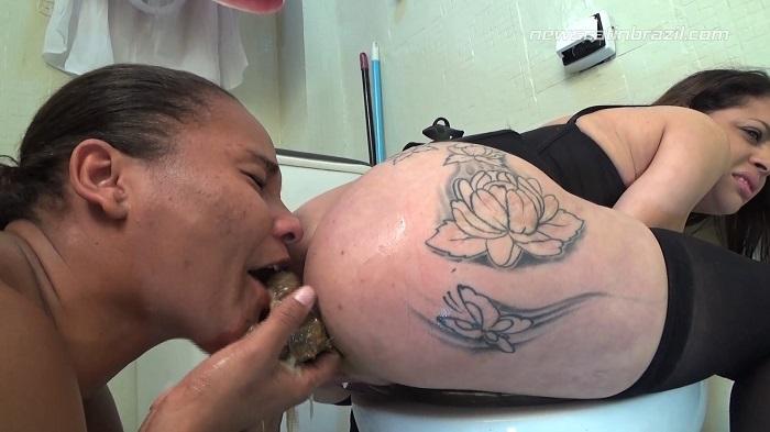 Girls - Feeding Her Friends, To Shit on Me - NewScatInBrazil - FullHD 1080p