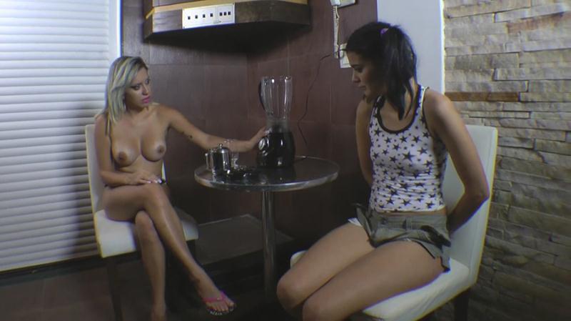 Bruna Ressien - Milk Shake Diarrhea Real Drink (Scat / Domination) SG-Video [FullHD 1080p]