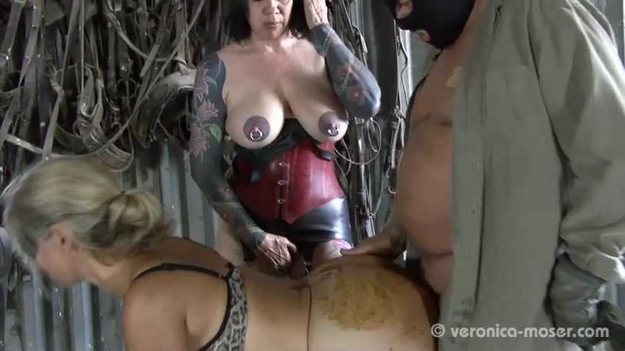 Veronika, Molly - Slut Farm [Domination Scat] SD