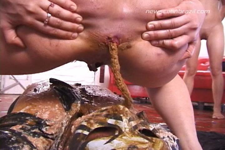 FetiDistroj - Toilet Man 3 (Big Pile, Dirty, Scat)  [SD]