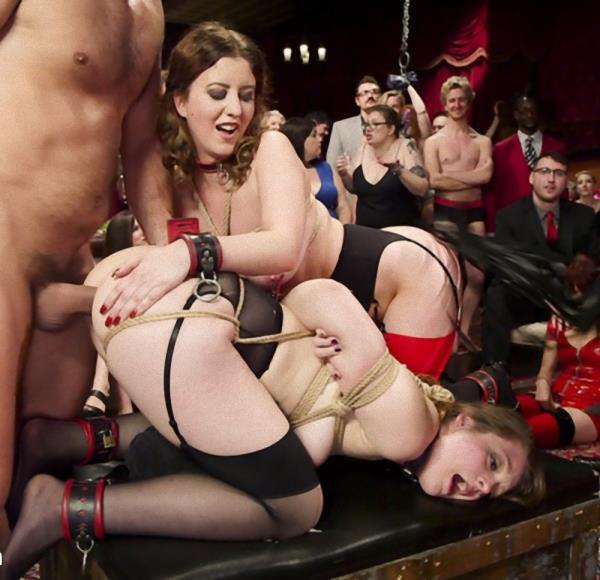 Ramon Nomar, Aiden Starr, Cherry Torn, Nora Riley - Armory Upper Floor Finale Part 2: Nora's Debasement  - TheupperFloor/Kink   [SD 540p]