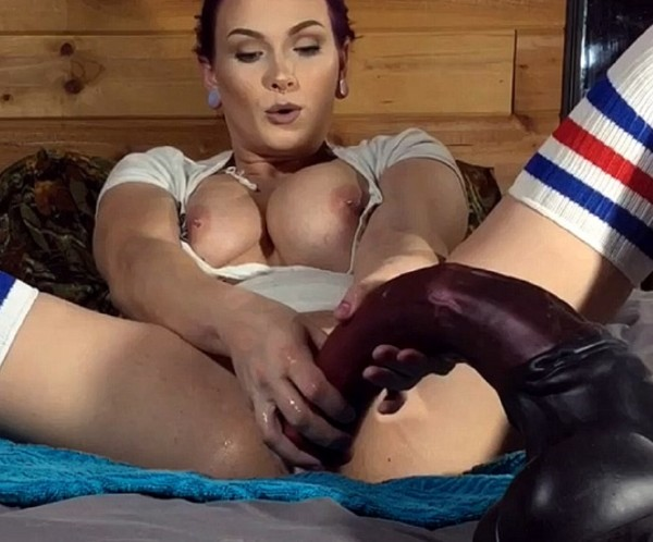 Lily - Anal fist and horse cock fuck (Homemade) - SicFlics [HD 720p]