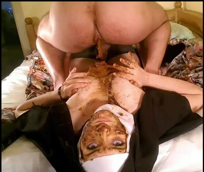 Lilith - Blasphemous Scat Nun. Complete VersionPart 3 (Big Pile, Dirty, Scat)  [FullHD 1080p]