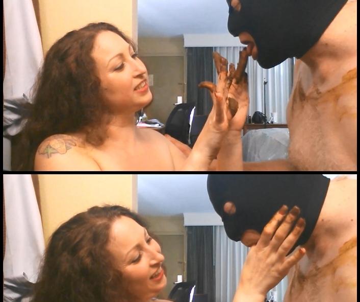 Veronika - Suck MY Shitty Fingers (Big Pile, Dirty, Scat)  [FullHD 1080p]