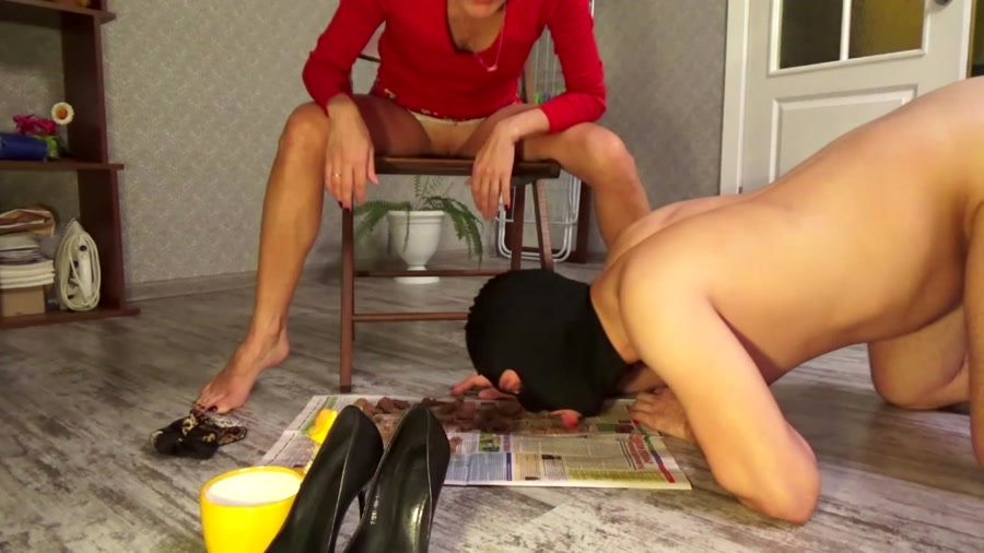 Defecation: Shitting in Red Sexy Dress - (Mistress Emily) [FullHD 1080p]