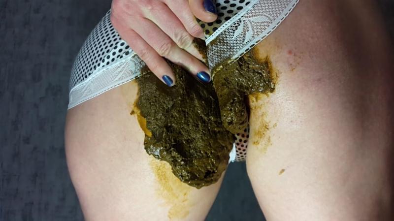 Anna Coprofield - Panty Poop (Poop Videos / Panty Pooping) Extreme Scat [FullHD 1080p]