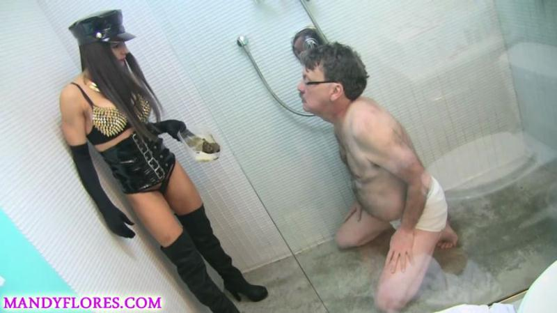 Mandy Flores - Extreme smoking and scat humiliation with SlaveRay (Scat / Femdom) ScatShop [FullHD 1080p]