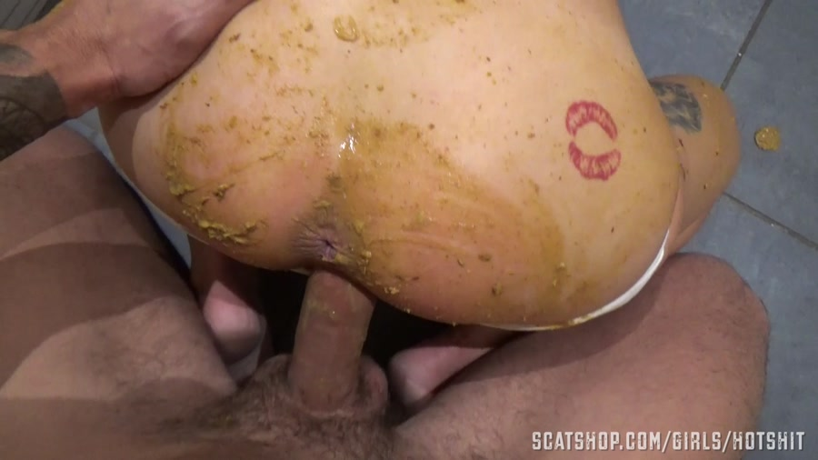 HotShit - Panty Poop & Dirty Anal Fuck (Scat Sex / Shit Smeared) - Shit Smeared [FullHD 1080p]