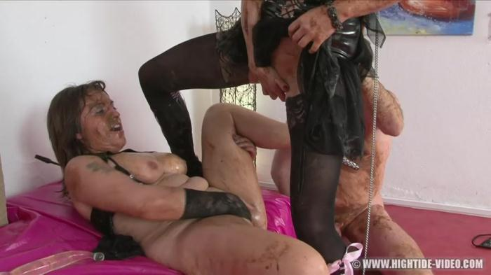 Regina Bella, Gina, 1 Male - SCAT SUBMISSION - (2017 / Hightide-Video) [HD 720p / 1.03 GB]